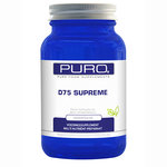 Vitamine D 75 mcg Supreme Supplement van Puro 100 capsules