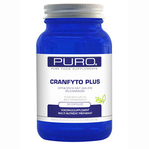 Cranfyto Plus Orthomoleculair Supplement van Puro 60 caps
